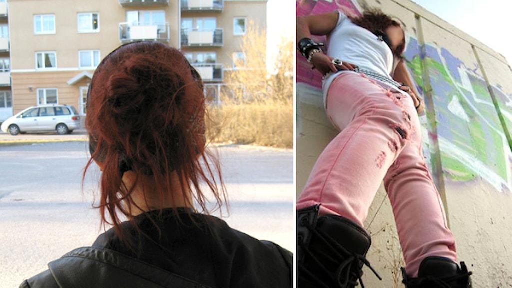 Nora har varit tvångsomhändertagen för sitt självskadebeteende. 17 år gammal prostituerar hon sig, när hon är intagen på ett behandlingshem utan att personalen ingriper. Foto: Daniel Velasco, Privat