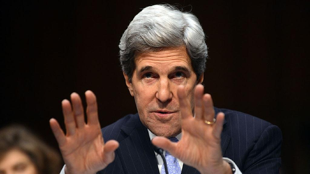 John Kerry. Foto: Saul Loeb/Scanpix.