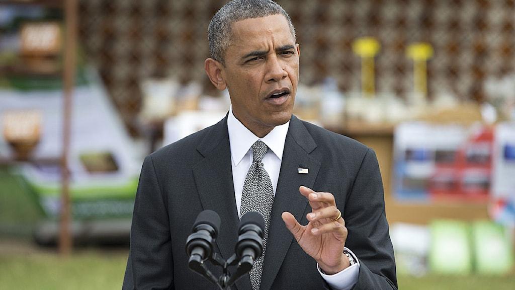 Barack Obama besök Afrika Foto:Evan Vucci/AP