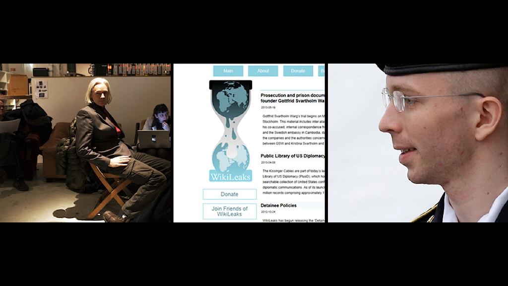 Julian Assange, wikileaks, Bradley Manning