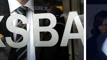 Riksbanken lämnar räntebesked och USA:s president Obama kommer till Sverige. Foto: Scanpix. Montage: Sveriges Radio.