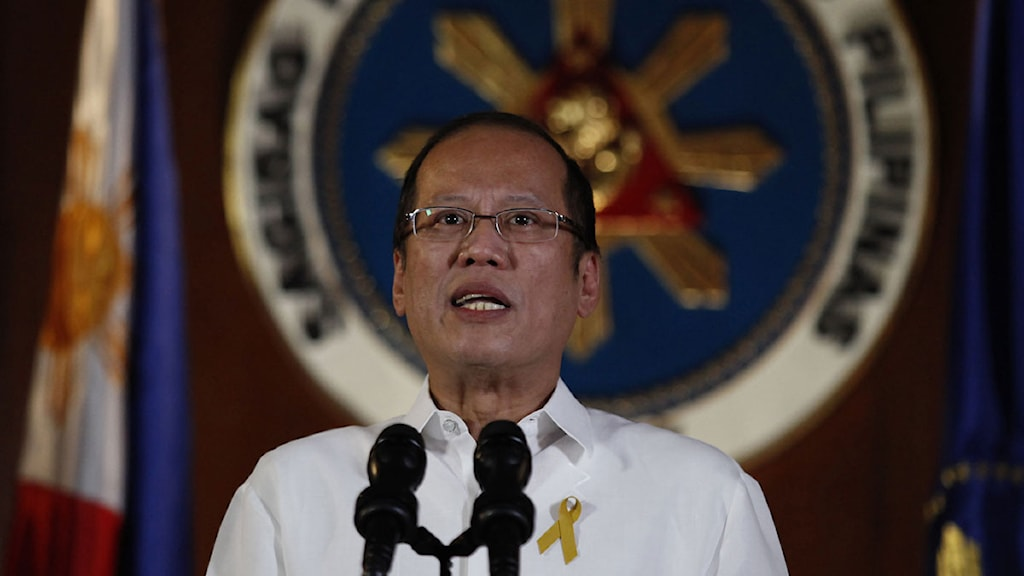 Benigno Aquino, predident på Filippinerna.