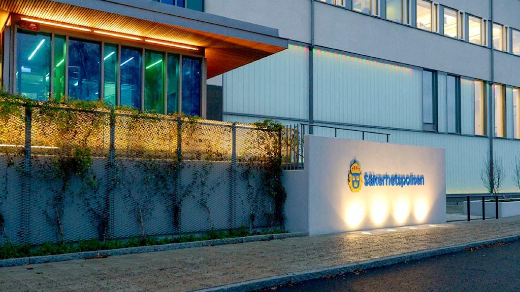 Säpos huvudkontor i Solna. Foto: Janerik Henriksson/TT.