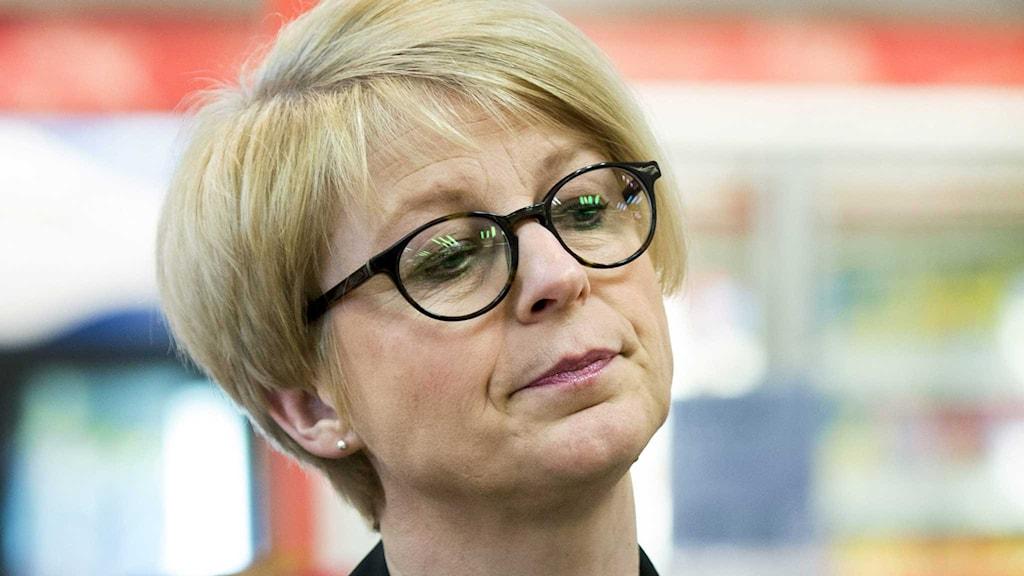 Arbetsmarknadsminister Elisabeth Svantesson (M).