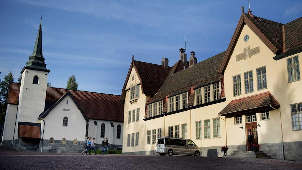 Lundsbergs skola är ett av de tre riksinternaten.