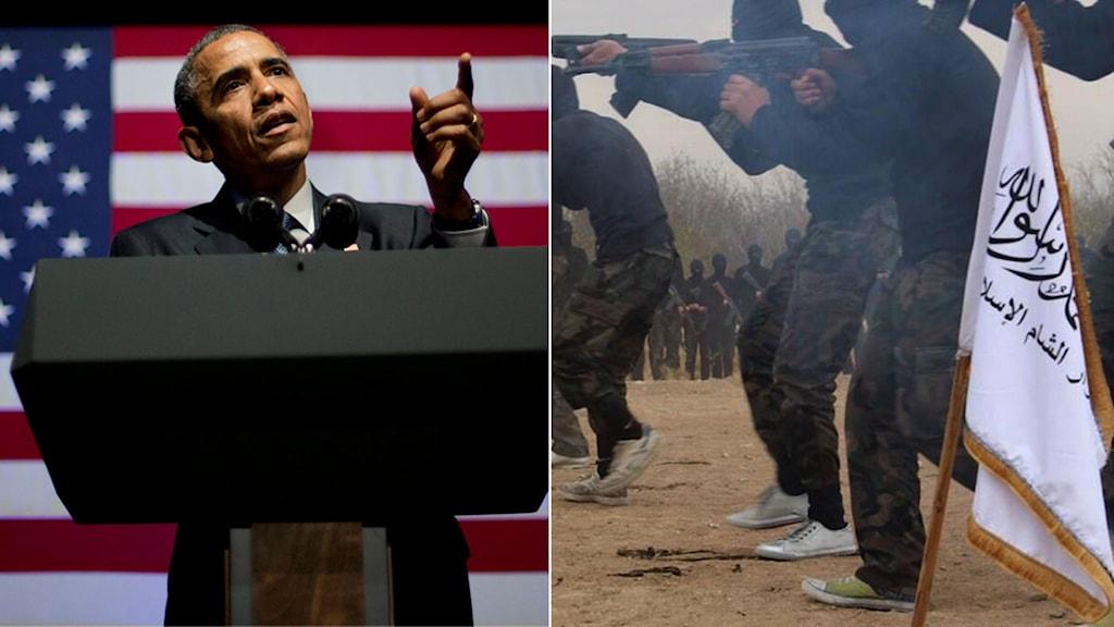 Obama, Isis, terror