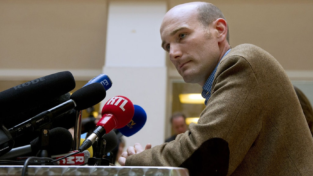 Nicolas Henin, fransk journalist. Foto: Alain Jocard/TT.