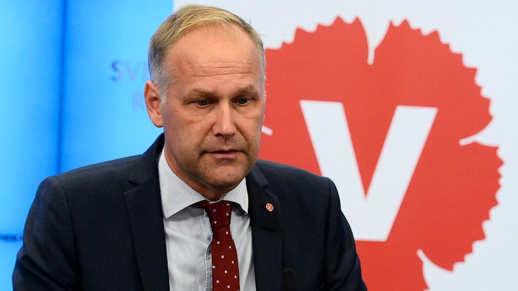 Jonas Sjöstedt. Foto: TT