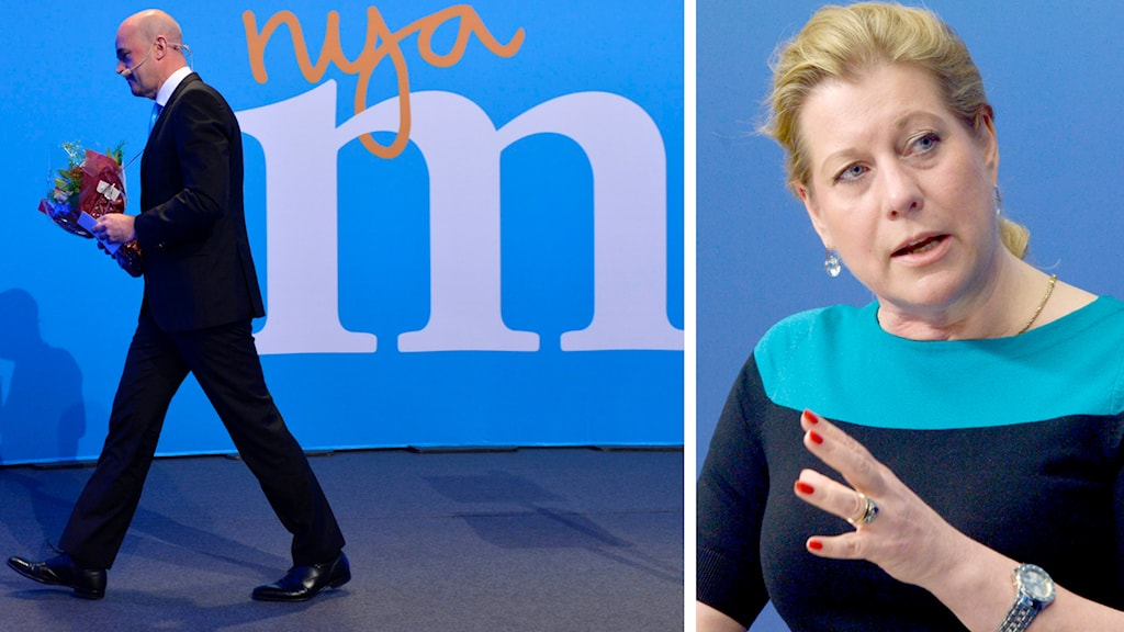 Många av landets moderata ledare nämner Catharina Elmsäter-Swärd som hetaste namnet till ny partiledare. Foto: TT