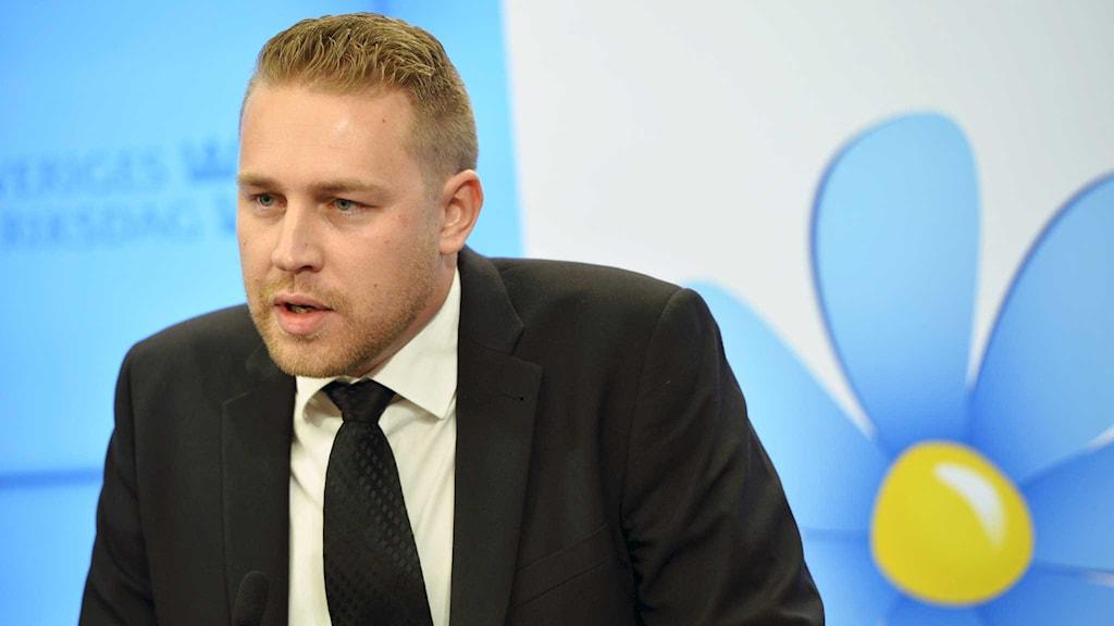 Mattias Karlsson, Sverigedemokraterna.