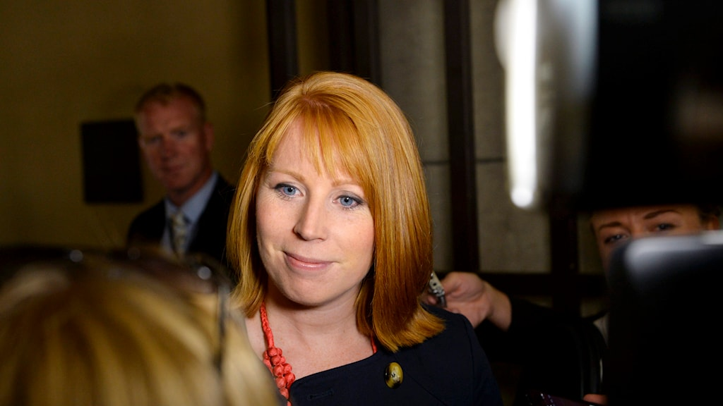 Annie Lööf has been the leader of the Center Party since 2011.