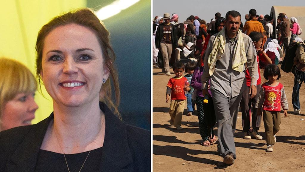 Danmark, Karen Hækkerup, Syrien, flyktingar