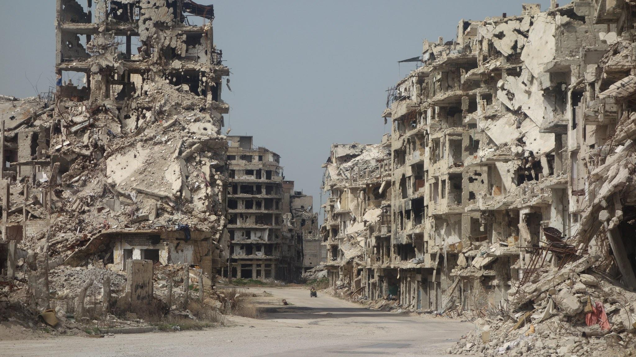 Radiokorrespondenterna om Syrienkonflikten som pågått i 5 år
