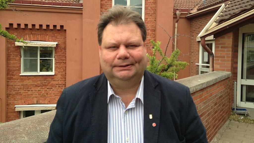 Peter Wretlund (S) kommunstyrelsens orförande i Oskarshamn