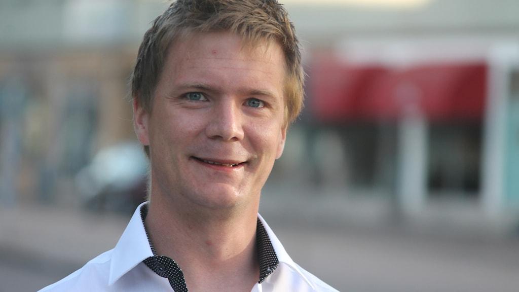 Christofer Johansson. Foto: Nick Näslund/Sveriges Radio
