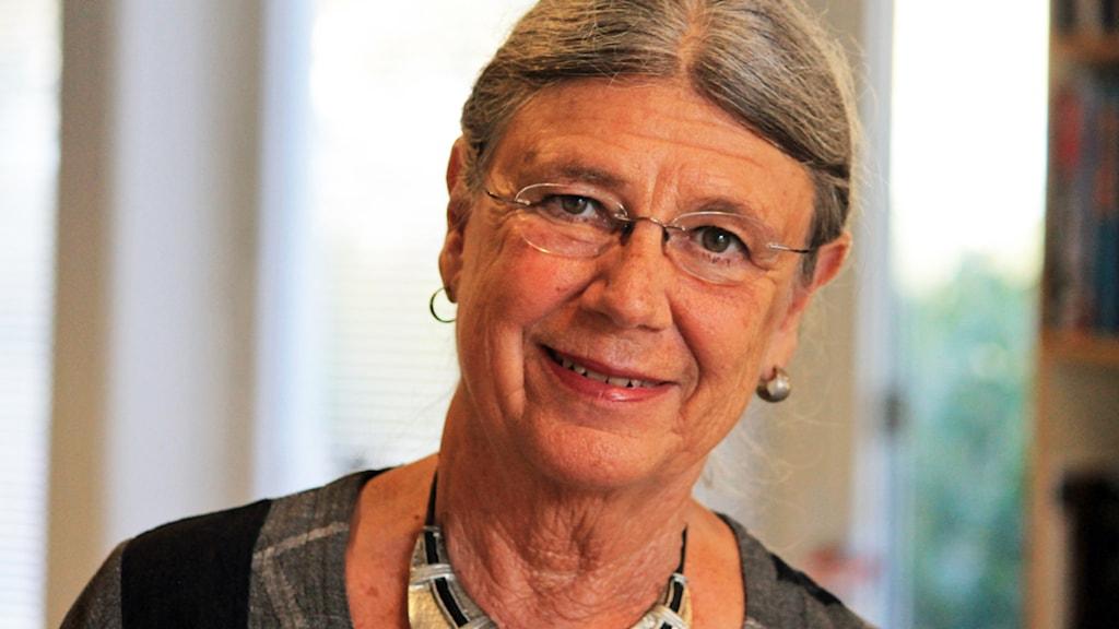 Karin Brunk Holmqvist. Foto: Nick Näslund/Sveriges Radio