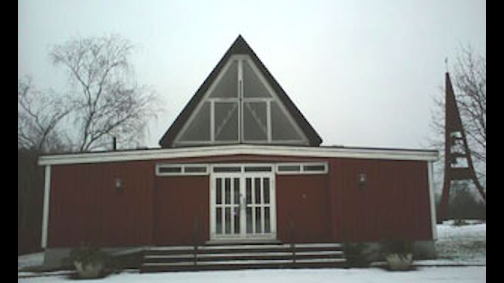 Kyrkan i Storebro. Foto: Lennart Ackling