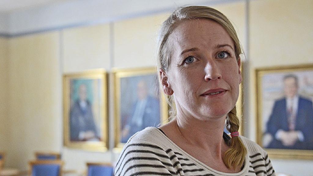 Åsa Kullgren. Foto: Per Thyrén/Sveriges Radio
