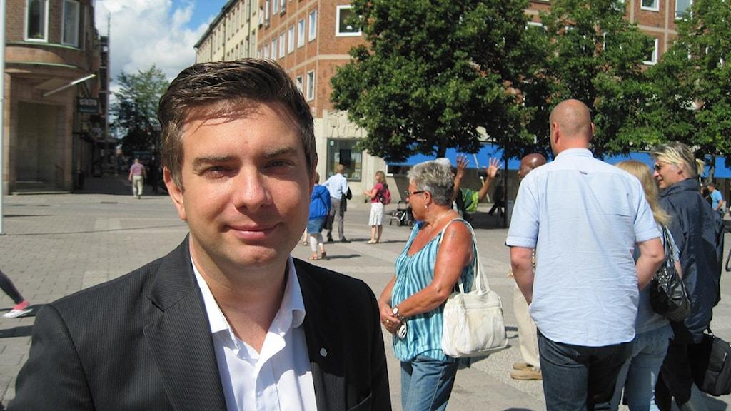 Jimmy Jansson kommunalråd Eskilstuna Foto: Linn Wåhlstedt/Sveriges Radio