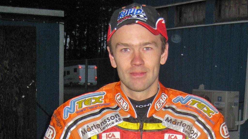 David Ruud. Foto Bertil Nilsson/Sveriges Radio.