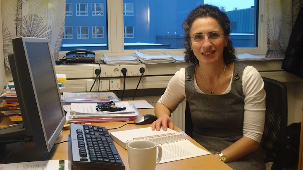 Alkisti Anastassaki Köhler, specialist på bettfysiologi