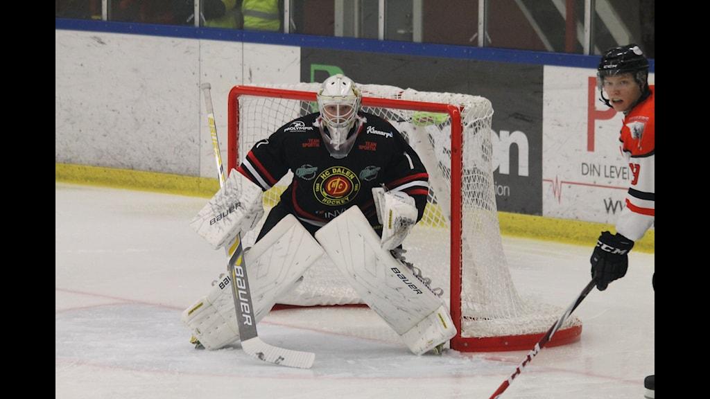 HC Dalens målvakr Viktor Kokman. Foto:Patrik Bromander SR Jönköping