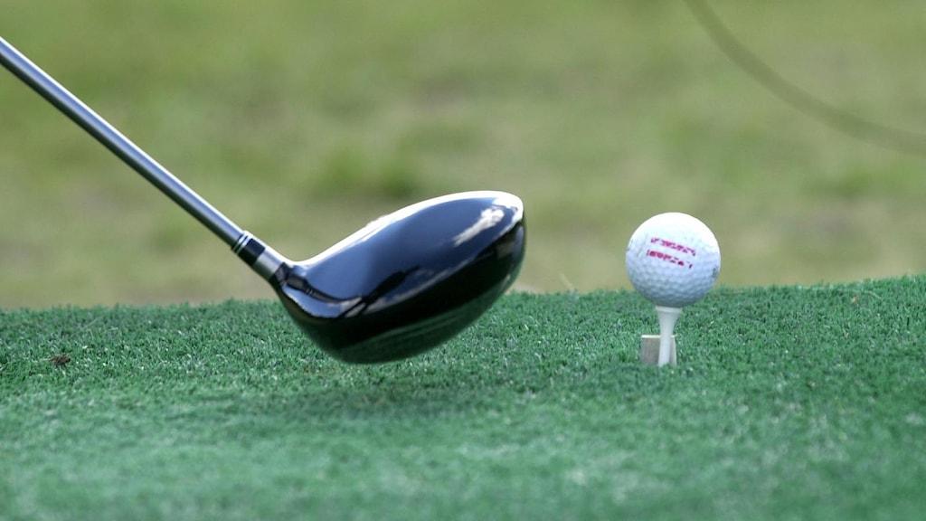 Golf utslag