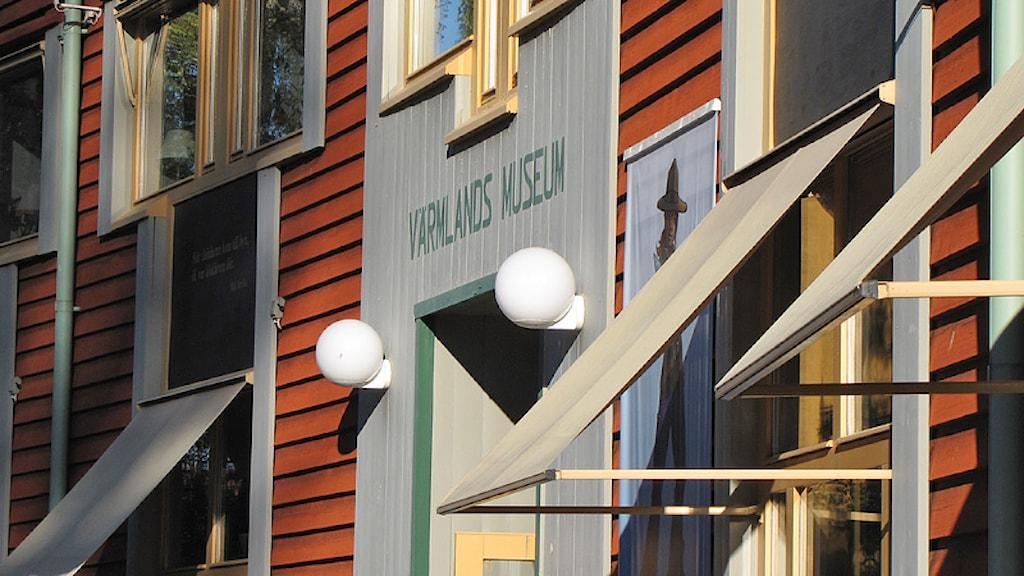 Värmlands Museum. Foto: Lars-Gunnar Olsson/Sveriges Radio.