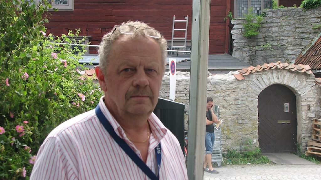 Projektledaren Torbjörn Gustafsson vid SVT Forum