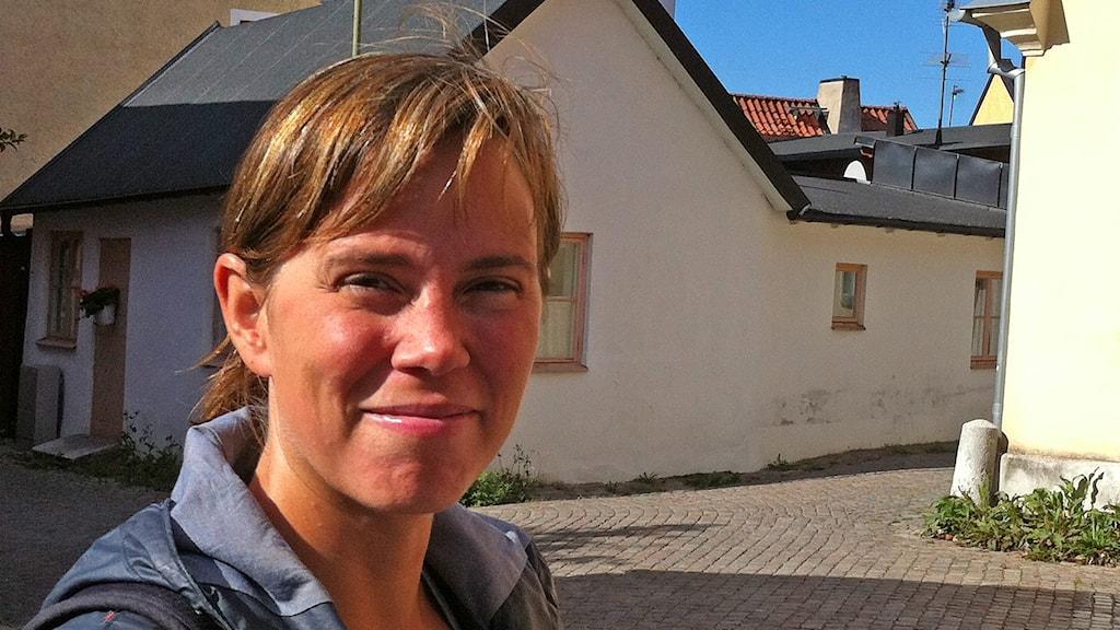 Anna Bjurström. Foto: Daniel Värjö/Sveriges Radio