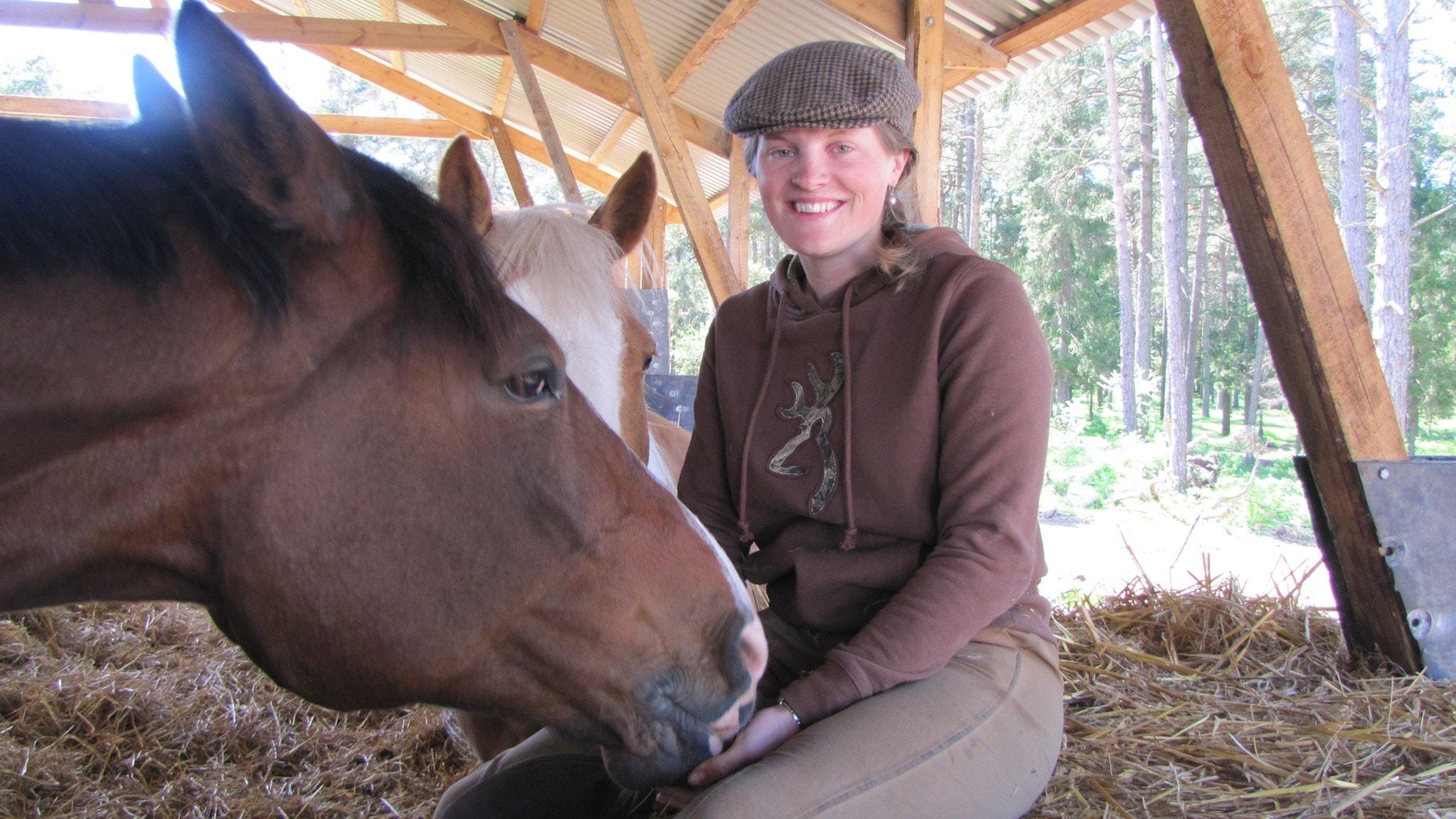 Porträttet med Charlotta Ågårdh-Orsmark