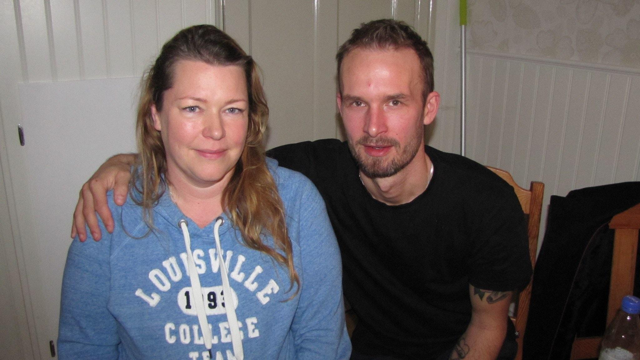 Porträttet med Annelie och Jonas Malmqvist