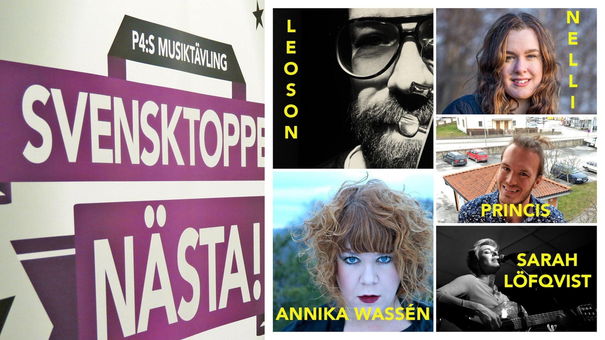 Finalisterna i Svensktoppen nästa Gotland