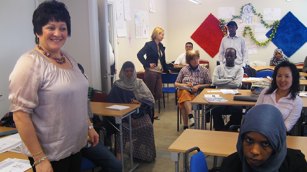 För Jozefina Persson väntar en intensiv höst. Foto: Hanna Larsson, P4 Sjuhärad Sveriges Radio.