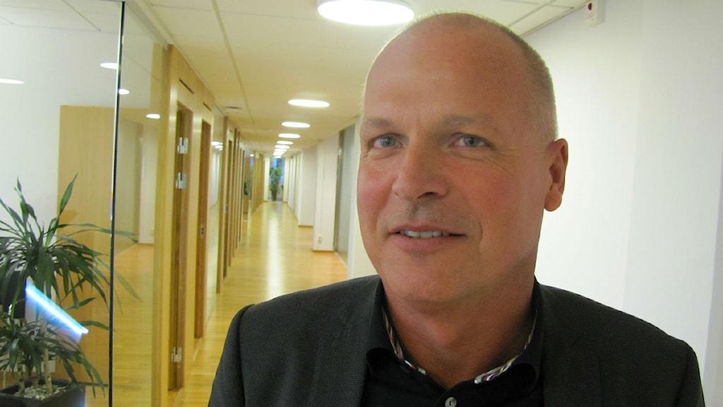 Svenljunga Verksamhetslokalers revisor Thomas Bohlin på revisionsbyrån KPMG. Foto: Marcus Ålsnäs P4 Sjuhärad - 3086514_1200_675