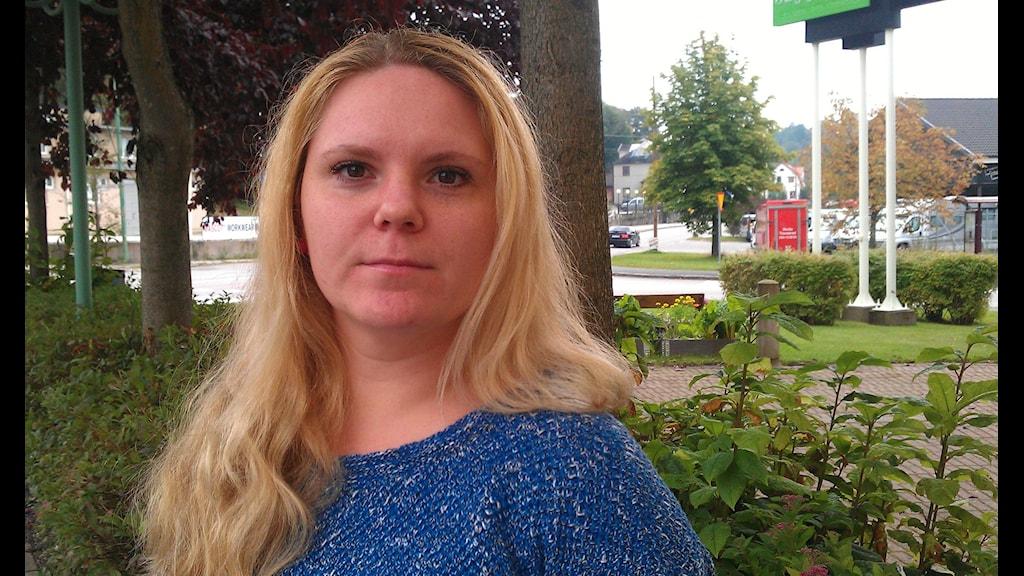 Anna Gustavsson, ordförande i föreningen Balans Borås/Sjuhärad. Foto: Caroline Aronsson