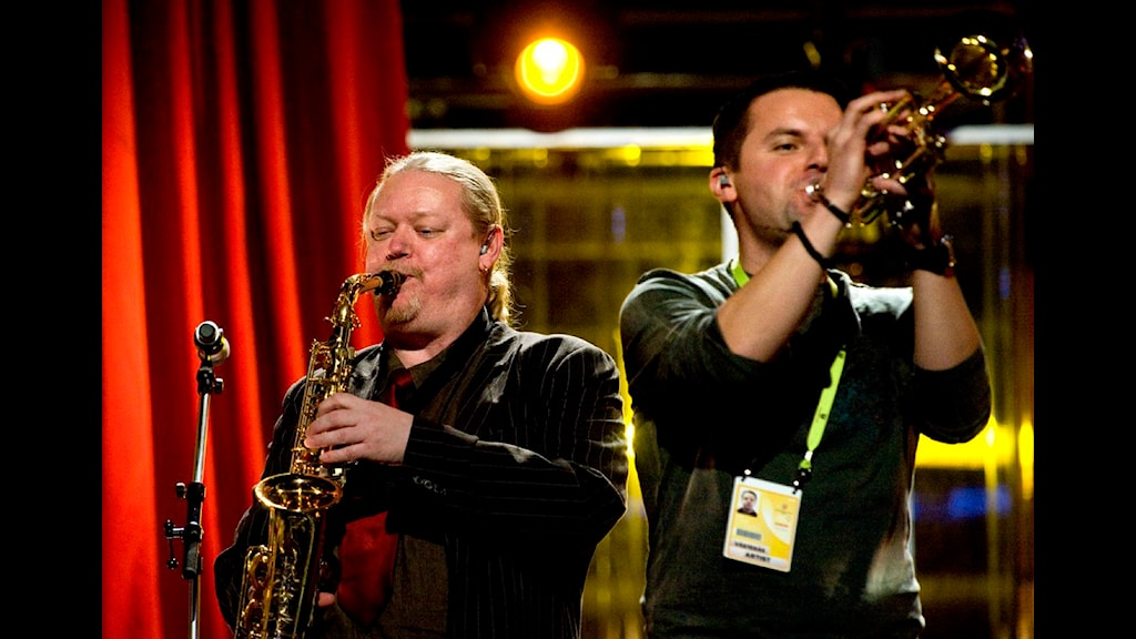 Mats Nilsson i bandet Andra Generationen. Foto: Pontus Lundahl, SCANPIX.
