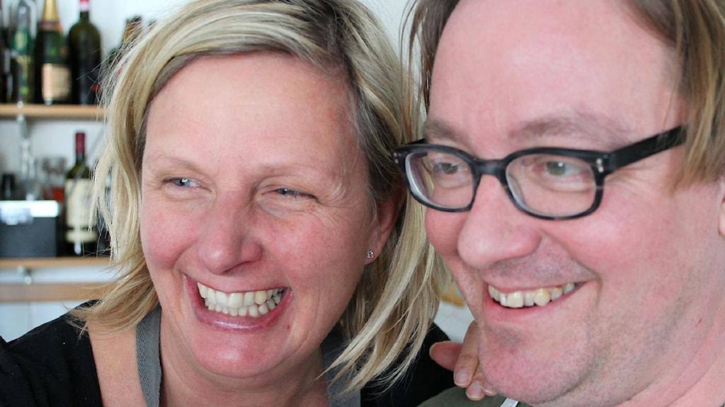 Fia Gulliksson och Jens Linder. Foto Björn Nordquist/Sveriges radio. - 2207020_1200_675