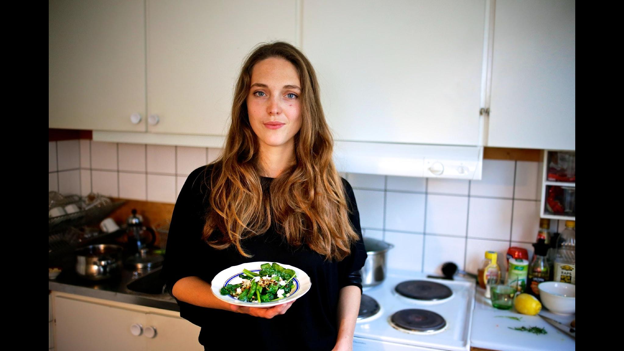 Emma Kolback bjuder på smårätter