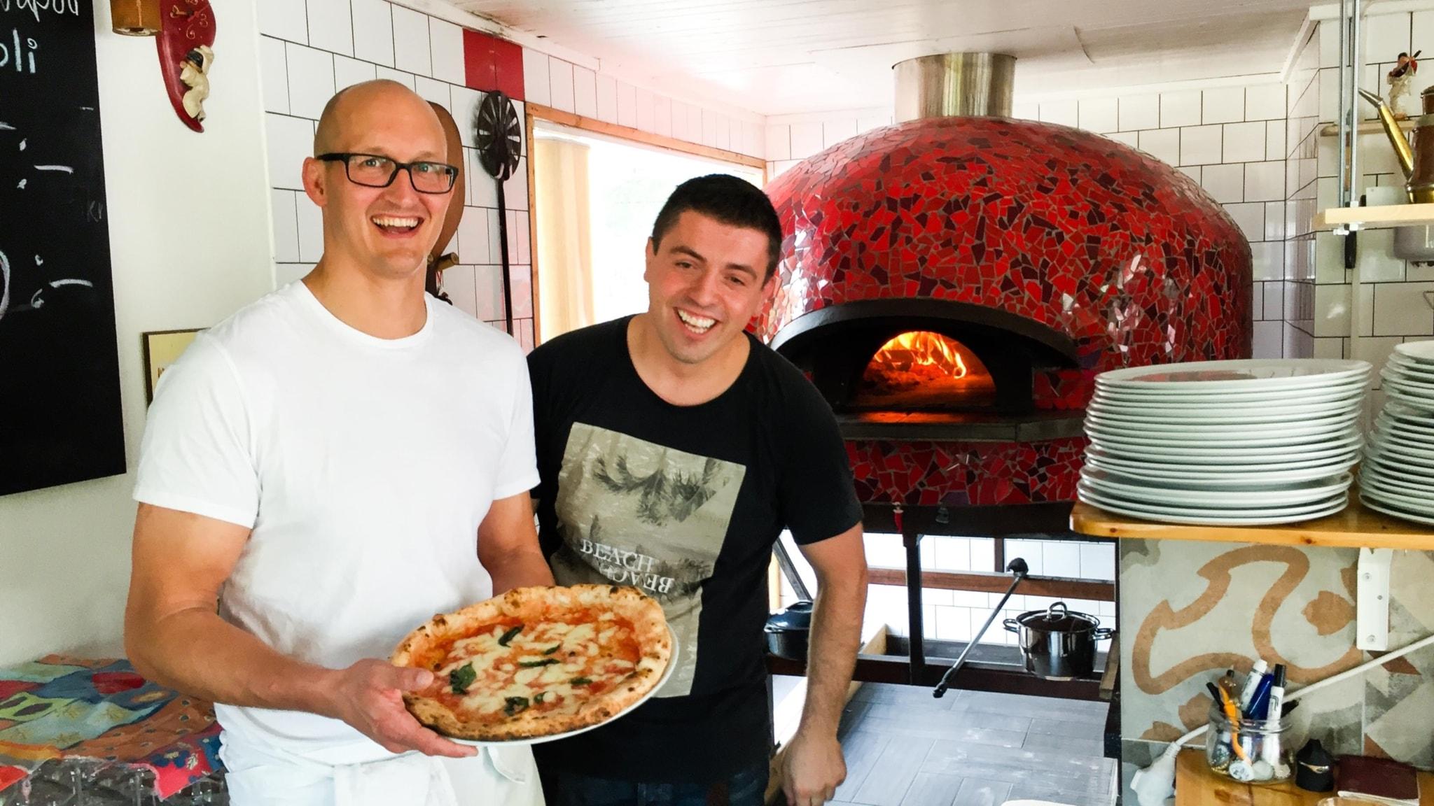 De är helt besatta av pizza från Neapel
