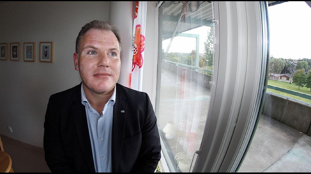 Gilbert Tribo (FP), regionråd. Foto: Paul Zyra/Sveriges Radio