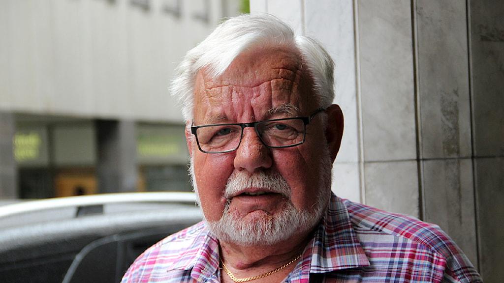 Tommy Hall, socialdemokratisk kommunpolitiker i Hörby. Foto: Hans Zillén/Sveriges Radio