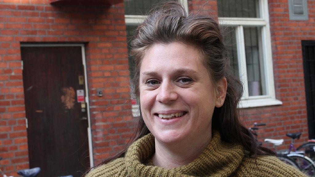 Linda Hiltman (Fi) har blandade känslor efter gårdagens val. Foto: Göran Eklund/SR