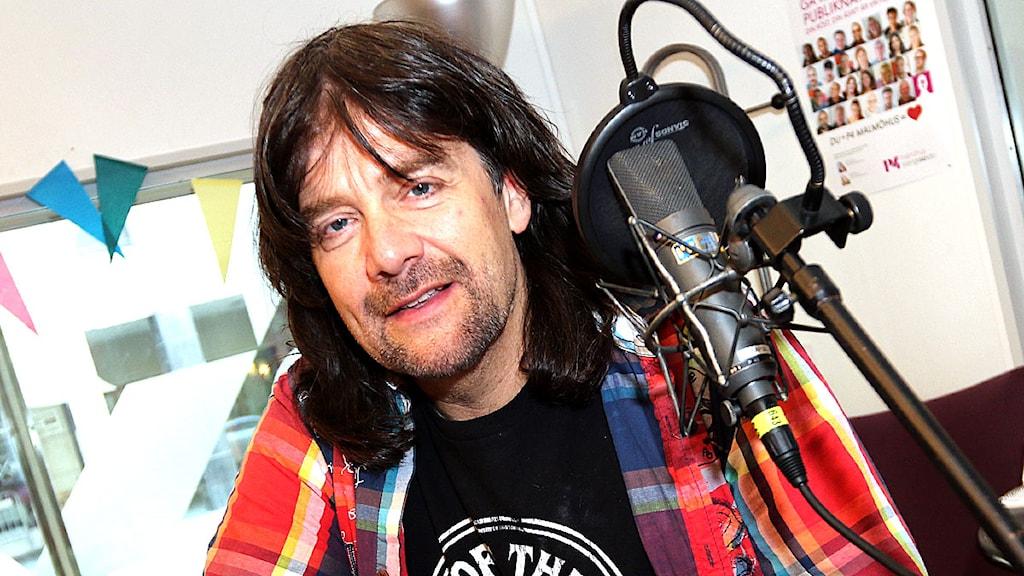 Robert Wells ska ut på jubileumsturné. Foto: Jan Wieslander/Sveriges radio