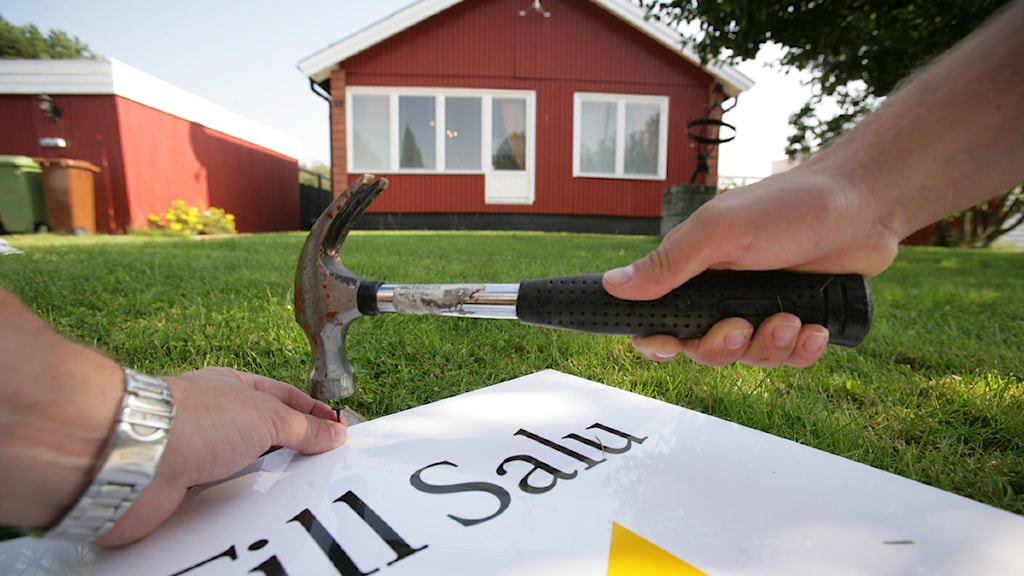 bostadspriser sjunker
