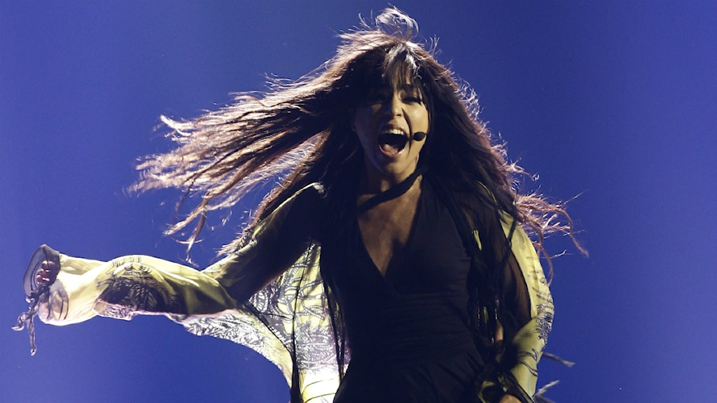 Loreen under finalen i Eurovision song contest. Foto: Scanpix.