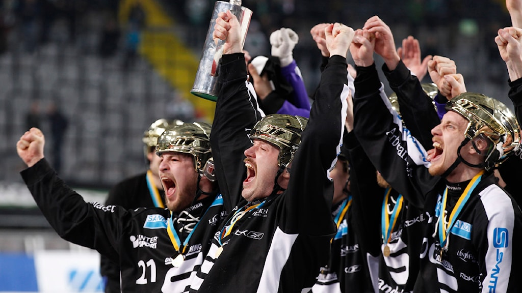 Guldhjältarna ska hyllas i Sandviken i eftermiddag. Foto: Pernilla Wahlman/TT