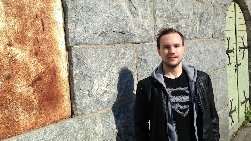 Vadim Arkhipin har tillbringat mycket tid på bänken i Dynamo Moskva, nu flyttar han hem för att lyfta Broberg. Foto: Christian Höijer/Sveriges Radio